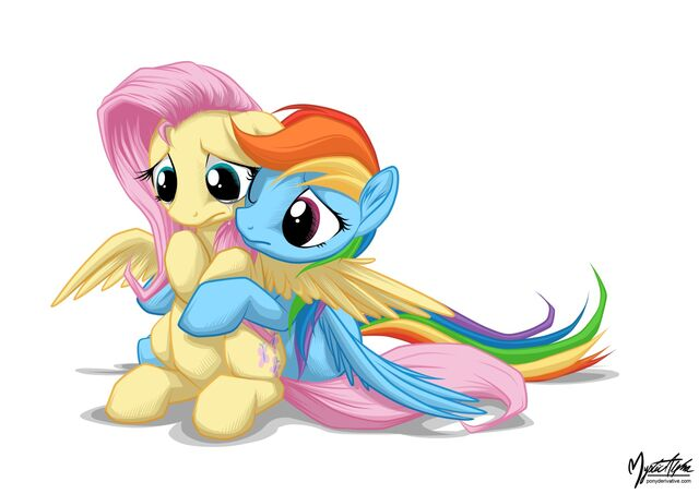 File:Rainbow hugs fluttershy by mysticalpha-d59mjx6.jpg