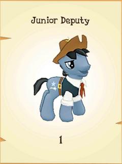 Junior Deputy Inventory