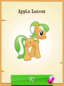 Apple Leaves unlocked