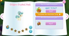 Chiffon Crystal Foal album