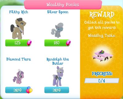 Wealthy Ponies