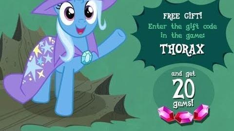20 FREE GEMS - MAY 2017 - My Little Pony Friendship is Magic - GAMELOFT - 20 Gemas Gratis Mayo