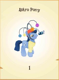 Astro Pony Inventory