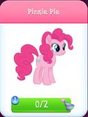 Pinkie Pie store unlocked