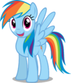 Rainbow Dash vector.png