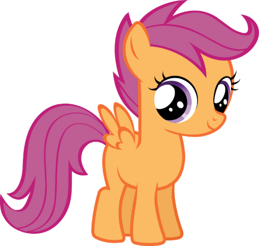 File:Scootaloo vector.png