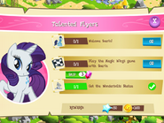 Talented Flyers tasks