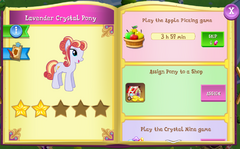 Lavender Crystal Pony album