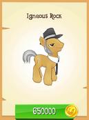 Igneous Rock unlocked