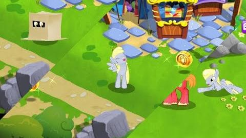 Finding DITZY DOO - My Little Pony Friendship is Magic - DERPY HOOVES was found - Video Game - MLP