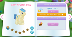Ivory Crystal Pony album