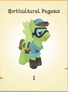 Horticultural Pegasus Inventory