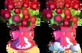 Large Romantic Vase