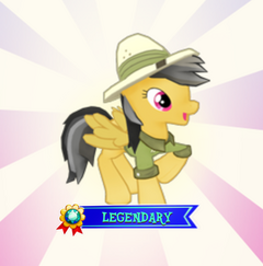 Daring Do Royal Balloon Pop Reward Screen