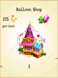 Balloon Shop Inventory