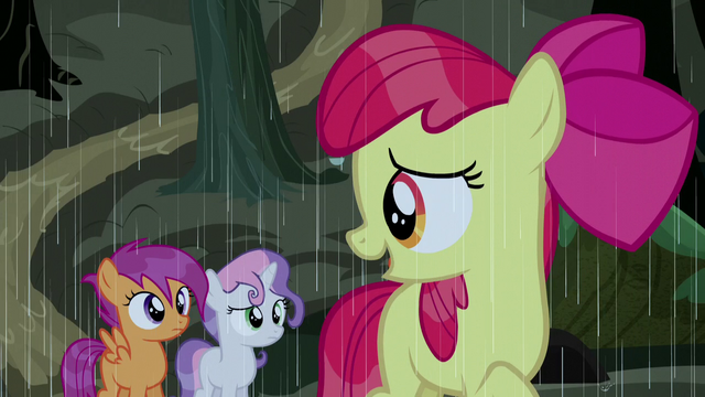 "File:Apple Bloom ""see if we can find some blankets"" S5E6.png"