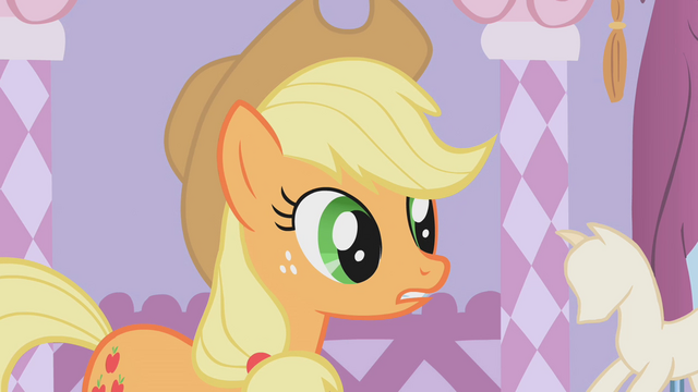 File:Applejack looks confused S1E14.png