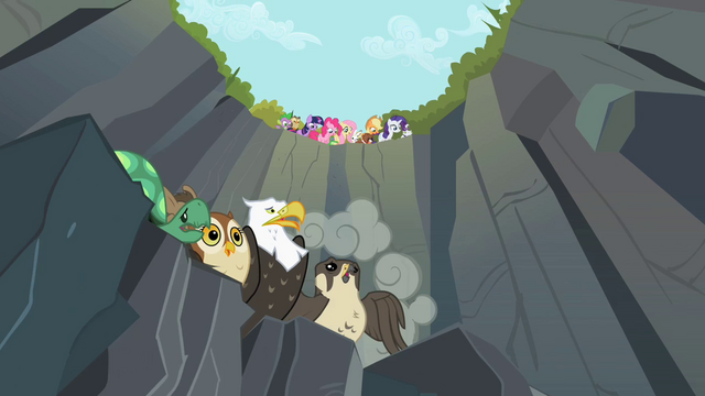 File:Finalists about to race Rainbow Dash S2E7.png