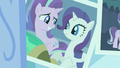 Photograph of Starlight and Rarity S7E1.png
