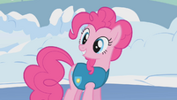 Pinkie Pie proud of her ice skating S1E11