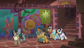 Caballeron holds Rainbow and Quibble hostage S6E13.png