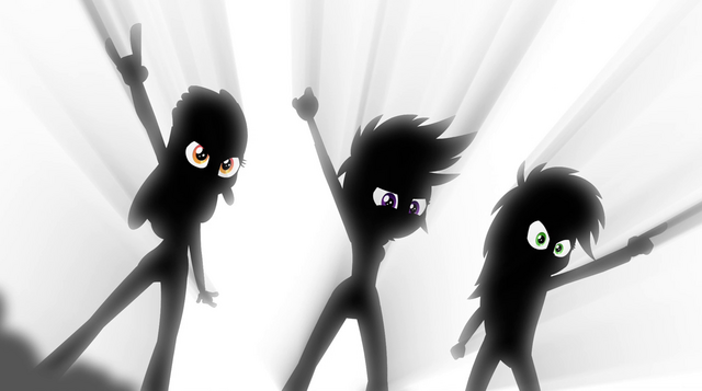 File:Cutie Mark Crusaders on-stage silhouette EG2.png