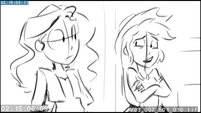 "EG3 animatic - AJ ""you can finally head off to Equestria"""