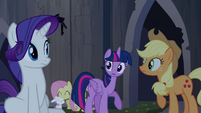 Twilight talking to her friends S4E03