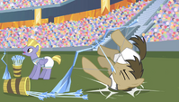 Dr. Hooves trips over arrow bucket S4E24