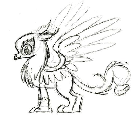 File:Gilda sketch by Lauren Faust.jpg