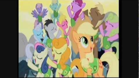 My little pony l'amicizia è magica - canzone l'inverno finisce
