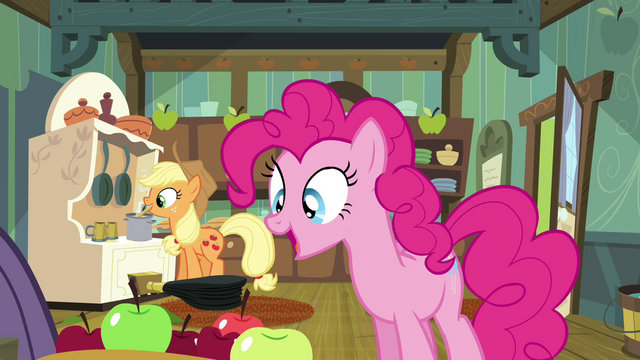 File:Pinkie Pie drops the apple S4E18.png