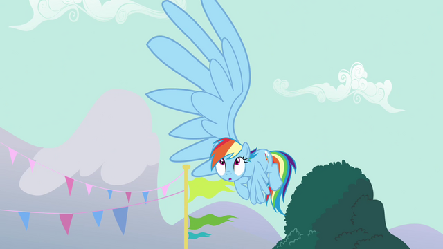 File:Rainbow Dash's big wing S3E5.png