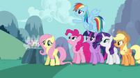 Rainbow Dash apologizing S4E16