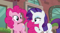 "Rarity ""I am off to scout possible locations for my new boutique!"" S6E3"