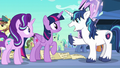 Shining Armor happy to see Twilight S6E1.png