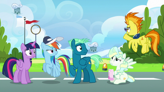 "File:Spitfire ""that cloud barely knew you were there!"" S6E24.png"