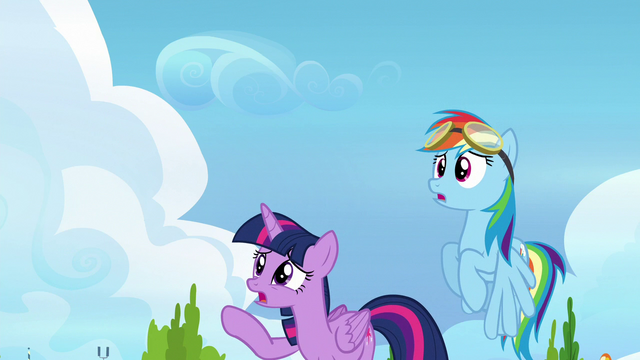 File:Twilight and Rainbow watch Vapor fly off S6E24.png