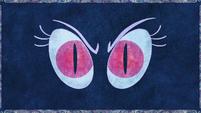 Nightmare Moon eyes depicted in legend S1E1