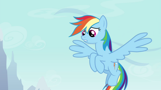 """File:Rainbow Dash """"it's too strong"""" S4E16.png"""