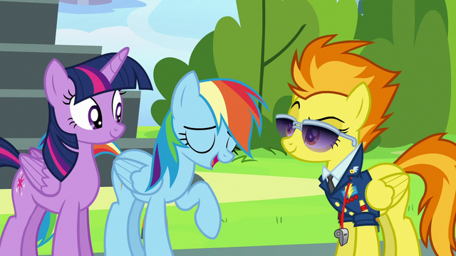 File:Rainbow Dash gives a slightly amused laugh S6E24.png