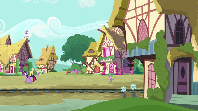 File:Spike follows Twilight through Ponyville S6E22.png