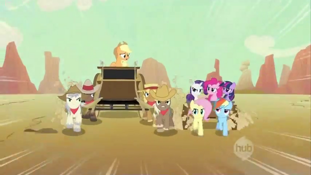 File:Applejack being told to pull over S2E14.png