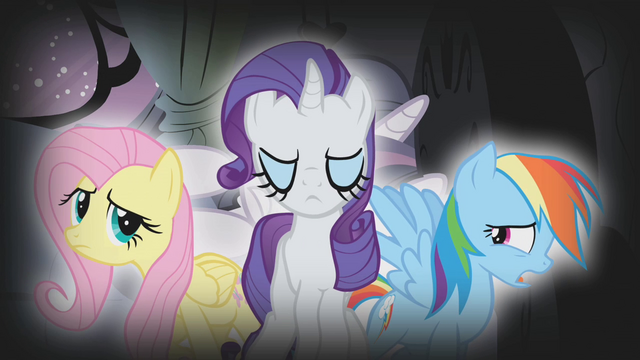File:Fluttershy, Rarity, and Dash in Twilight's nightmare S1E09.png
