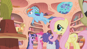 Main ponies arguing S1E9.png