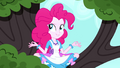 Pinkie in a meditative pose on a tree branch SS10.png