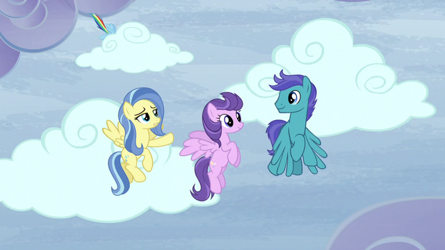 "File:Sunshower ""But there's clear skies over there, too!"" S5E5.png"