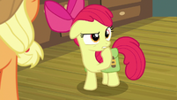 Apple Bloom wondering about the feud S7E13