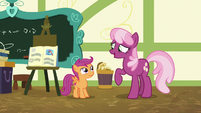 """Cheerilee """"a moldy sandwich in your report"""" S7E7"""