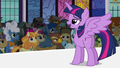 Princess Twilight addressing the crowd S5E10.png